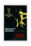 PENDULUM, US poster, George Peppard, 1969 Poster