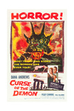 CURSE OF THE DEMON (aka NIGHT OF THE DEMON), bottom right: Peggy Cummins, Dana Andrews, 1957 Prints