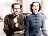 MAJOR BARBARA, from left: Rex Harrison, Wendy Hiller, 1941 Photo
