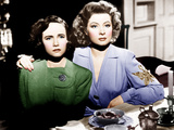 MRS. MINIVER, from left: Teresa Wright, Greer Garson, 1942 Photo