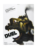 DUEL, French poster, 1971 Art