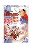 MYSTERY MOUNTAIN, upper right and bottom left: Ken Maynard, 1934. Prints
