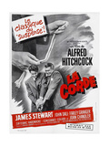 ROPE, (aka LA CORDE), French poster, from left: Farley Granger, James Stewart, 1948 Posters