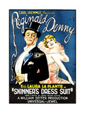 SKINNER'S DRESS SUIT, left to right: Reginald Denny, Laura La Plante, 1926. Posters