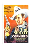 CORNERED, Tim McCoy, 1932 Posters