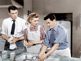 GENTLEMAN'S AGREEMENT, from left: Gregory Peck, Dorothy McGuire, John Garfield, 1947. Photo