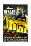 NURSE EDITH CAVELL, US poster art, from left: Anna Neagle, Jimmy Butler, 1939 Prints