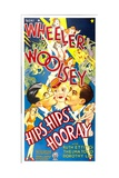 HIPS, HIPS, HOORAY, from left: Robert Woolsey, Ruth Etting, Bert Wheeler, 1934. Poster
