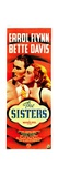 THE SISTERS, from left: Errol Flynn, Bette Davis, 1938. Posters