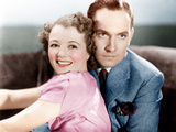 A STAR IS BORN, from left: Janet Gaynor, Fredric March, 1937 Photo