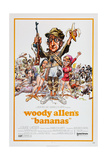 BANANAS, movie poster, 1971 Premium Giclee Print