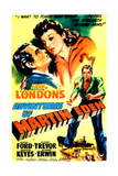 THE ADVENTURES OF MARTIN EDEN, US poster, from left: Glenn Ford, Evelyn Keyes, 1942 Posters