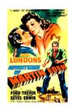 THE ADVENTURES OF MARTIN EDEN, US poster, from left: Glenn Ford, Evelyn Keyes, 1942 Posters