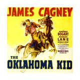 THE OKLAHOMA KID, James Cagney on window card, 1939. Premium Giclee Print