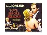 LOVE BEFORE BREAKFAST, Carole Lombard, Preston Foster, 1936 Prints
