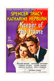 KEEPER OF THE FLAME, l-r: Katharine Hepburn, Spencer Tracy, 1942. Prints