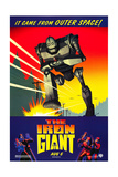 THE IRON GIANT, advance poster art, 1999, ©Warner Bros. Pictures/courtesy Everett Collection Affiches