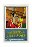 JESSE JAMES, Fred Thomson, 1927 Posters