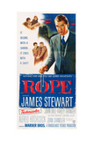 ROPE, right: James Stewart, 1948. Prints