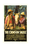 CRIMSON SKULL, left to right: Lawrence Chenault, Anita Bush, 1921. Posters