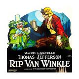 RIP VAN WINKLE, poster art, 1921. Posters
