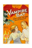 THE VAMPIRE BAT, from top left: Lionel Atwill, bottom from left: Fay Wray, Lionel Atwill, 1933. Prints
