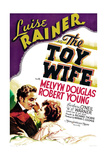 THE TOY WIFE, US poster art, from left: Melvyn Douglas, Luise Rainer, 1938 Posters