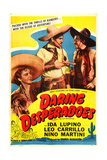 THE GAY DESPERADO (aka DARING DESPERADOES) Posters