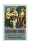 THE FOREIGN LEGION, left to right: Lewis Stone, Norman Kerry, Mary Nolan, 1928. Prints