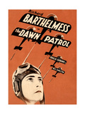 THE DAWN PATROL, Richard Barthelmess on poster art, 1930 Posters