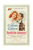RANDOM HARVEST, Greer Garson, Ronald Colman, 1942 Reprodukce