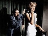 DIAL M FOR MURDER, from left: Anthony Dawson, Grace Kelly, 1954 Photo
