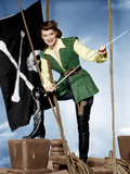 AGAINST ALL FLAGS, Maureen O'Hara, 1952 Poster