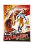 THE ADVENTURES OF CAPTAIN MARVEL, right: Tom Tyler, 1940 Posters