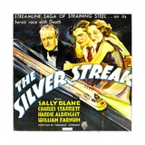 SILVER STREAK, from left: William Farnum, Charles Starrett, Sally Blane, 1934. Posters