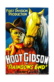 RAINBOW'S END, Hoot Gibson, 1935. Prints
