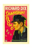 SHANGHAI BOUND, Richard Dix, 1927. Prints