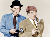 ABBOTT AND COSTELLO MEET THE INVISIBLE MAN, from left: Bud Abbott, Lou Costello Photo