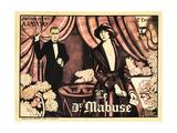 DR. MABUSE: THE GAMBLER, (aka DR. MABUSE, DER SPIELER-EIN BILD DER ZEIT), French poster art, 1922. Prints