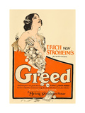 GREED, Zasu Pitts on window card, 1924. Print