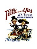 TILLIE AND GUS, W.C. Fields, Alison Skipworth, Baby LeRoy, 1933 Art