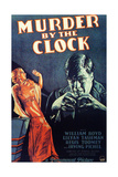 MURDER BY THE CLOCK, from left on US poster art: Lilyan Tashman, Irving Pichel, 1931 Prints