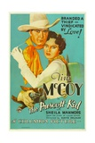 THE PRESCOTT KID, from left: Tim McCoy, Sheila Mannors (aka Sheila Bromley), 1934. Posters