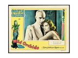 WILD ORCHIDS, border: Greta Garbo, inset l-r: Lewis Stone, Greta Garbo on lobbycard, 1929 Poster