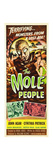 THE MOLE PEOPLE, 1956 Art