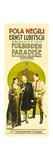 Forbidden Paradise, Pola Negri, Adolphe Menjou, Rod La Rocque, 1924 Poster