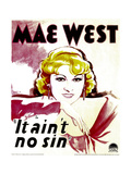 BELLE OF THE NINETIES, (aka IT AIN'T NO SIN), Mae West, 1934 Posters