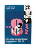 8 1/2, (aka EIGHT AND A HALF), Swedish poster, 1963. Poster