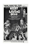NIGHT OF THE LIVING DEAD, US poster, 1968 Print