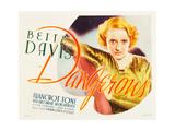 DANGEROUS, Bette Davis, 1935 Plakater